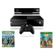 Microsoft 500 GB + Kinect + Sports Rivals + Zoo Tycoon