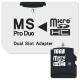 Connect IT CI-1138, MS Pro Duo - 2x MicroSDHC