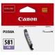 Canon CLI-581 PB - foto modrá