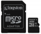 Kingston Canvas Select MicroSDHC 32GB UHS-I U1 (80R/10W) + adapter