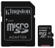 Kingston MicroSDXC 64GB UHS-I U1 (80R/10W) + adapter