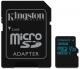 Kingston Canvas Go! MicroSDHC 32GB UHS-I U3 (90R/45W) + adapter