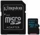 Kingston Canvas Go! MicroSDXC 64GB UHS-I U3 (90R/45W) + adapter