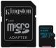 Kingston Canvas Go! MicroSDXC 64GB UHS-I U3 (90R/45W) + adapter