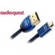 AQ Slinky HDMI / micro HDMI, 2m modrý