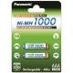 Panasonic NiMH AAA, 1 000 mAh, 2 ks
