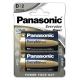 Panasonic Standard Power D, LR20, blistr 2ks