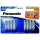 Panasonic Evolta AA, LR06, blistr 4+4ks