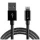 4smarts RAPIDCord, USB/Lightning, MFi, 1m černý