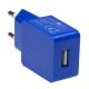 Connect IT COLORZ USB, 1A modrá