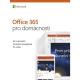 Microsoft Office 365 Pro domácnosti CZ - samostatně neprodejné