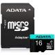 ADATA Premier Pro Micro SDHC 16GB UHS-I U3 (95R/30W) + adaptér