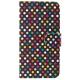 FIXED FIT pro Apple iPhone 5/5S/SE - motiv Rainbow Dots