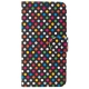 FIXED FIT pro Huawei P20 Lite - motiv Rainbow Dots