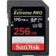 Sandisk SDXC Extreme Pro 256GB UHS-I U3 (170R/90W)