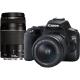 Canon 250D + 18-55 DC + 75-300 DC