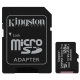 Kingston Canvas Select Plus MicroSDXC 128GB UHS-I U1 (100R/10W) + adapter
