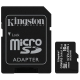 Kingston Canvas Select Plus MicroSDHC 16GB UHS-I U1 (100R/10W) + adapter