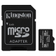 Kingston Canvas Select Plus MicroSDHC 32GB UHS-I U1 (100R/10W) + adapter