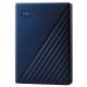 Western Digital 4TB pro Mac modrý