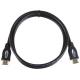 EMOS HDMI/HDMI 2.0, 1,5m, ECO, s ethernetem černý