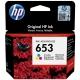 HP 653, 200 stran, CMY