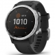 Garmin fenix6S Solar - Silver/Black Band