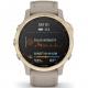 Garmin fenix6S PRO Solar - Light Gold/Sand Band (MAP/Music)