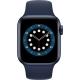 Apple GPS 44mm pouzdro z modrého hliníku - námořnicky tmavomodrý sportovní náramek