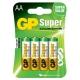 GP Super AA, LR06, blistr 4ks