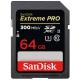 Sandisk SDXC Extreme Pro 64GB UHS-II U3 (300R/260W)