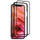 FIXED 3D Full-Cover s aplikátorem na Apple iPhone 12/12 Pro černé