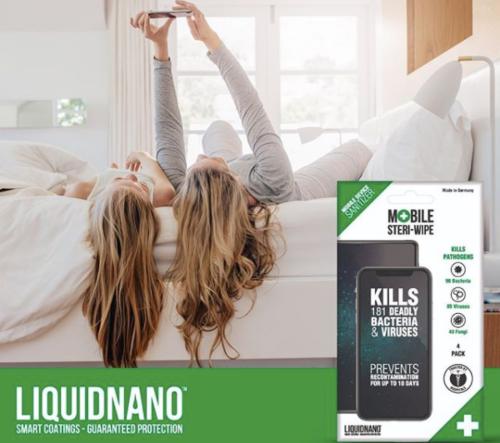 LiquidNano Steri-Wipe, 4 ks