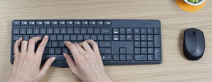 feabfc7eb Bezdrátová klávesnice a myš od výrobce Logitech vás přímo uchvátí nejen  svou jednoduchostí, ale i chytrým provedením.