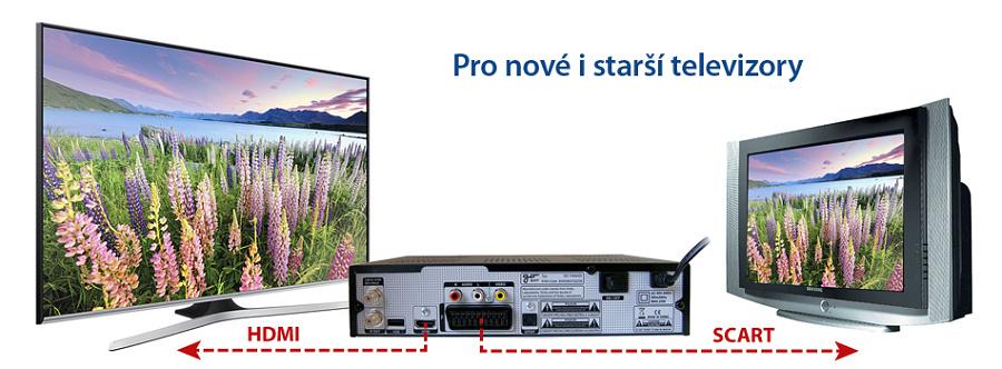 """Přijímač je vybaven průchozí svorkou označenou""""LOOP OUT"""", který umožní propojení s dalším satelitním přijímačem a sledování více kanálů."""