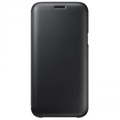 Pouzdro na mobil flipové Samsung Wallet Cover pro J5 2017 černé ... 3041aac5eaf