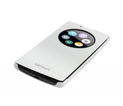 b85579ff94c0 Pouzdro na mobil flipové LG Quick Circle (Overlay type) pro Magna bílé