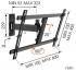 """Držák TV Vogel's W52080 polohovatelný, pro úhlopříčky 40"""" až 65"""", nosnost 30 kg černý"""