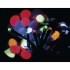Vánoční osvětlení EMOS 120 LED, 12m, řetěz, vícebarevná, časovač, i venkovní použití