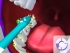 Zubní kartáček Philips Sonicare For Kids HX6322/04 bílý/zelený