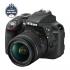 Digitální fotoaparát Nikon D3300 + AF-P 18-55 VR černý