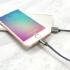 Kabel ADATA Sync & Charge USB/Lightning, 1m, MFi, opletený titanium