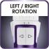 Kulma rotační Rowenta BRUSH ACTIV CF9530F0 bílá/fialová