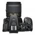 Digitální fotoaparát Nikon D5600 + 18-55 AF-P VR + 70-300 AF-P VR černý