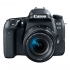 Digitální fotoaparát Canon EOS 77D + 18-135 IS USM + VUK černý