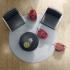 Podlahový vysavač Electrolux SilentPerformer ESP73RR červený