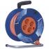 Kabel prodlužovací na bubnu EMOS 4x zásuvka, 25m oranžový