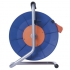 Kabel prodlužovací na bubnu EMOS 4x zásuvka, 50m oranžový