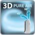 Čistička vzduchu Rowenta Intense Pure Air PU6020F0 stříbrná/bílá