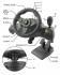 Volant Esperanza EGW102 Nitro pro PC, PS3 + pedály černý